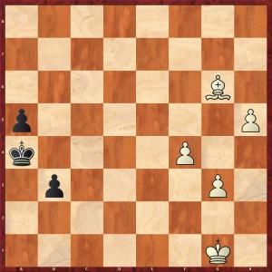 52. h4-h5 Schwarz gab auf.
