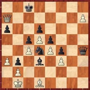 Stellung nach 44... Lf1-d3+
