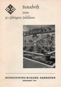 Deckblatt der Festschrift von 1969