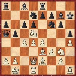 Stellung nach 15.Sc3-d5