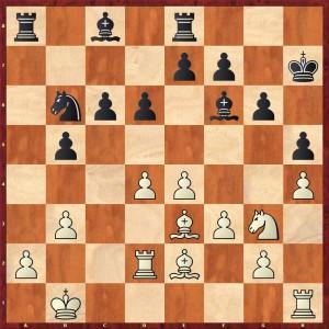 Stellung nach 19.b2-b3