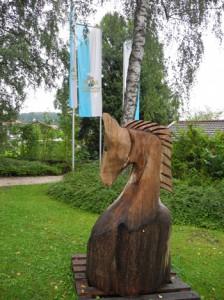 """""""Springer am Rand"""" im Bergener Kurpark"""