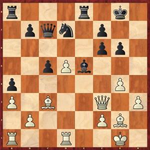 Stellung nach 23... Ld6-e5