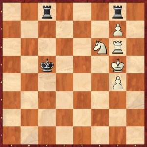 Stellung nach 58.Sh5-f6 Schwarz gab auf