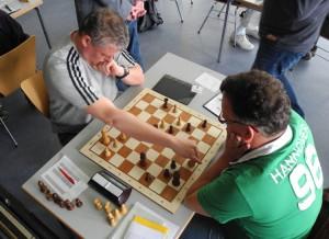 Brett 5 Bilawer-Gabriel Weiß zieht 31.De4-e8+