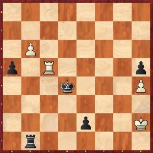 0-1 nach 62... Kc3-d4