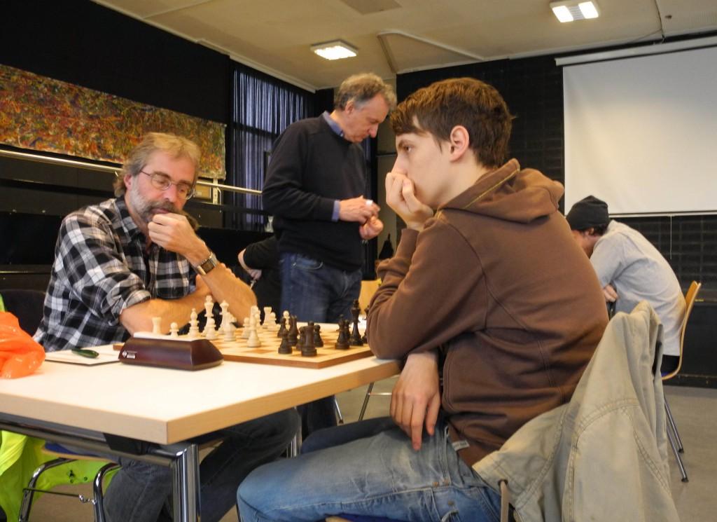 Brett 6 Bernd Fritze 1/2 - 1/2 Yannick Koch