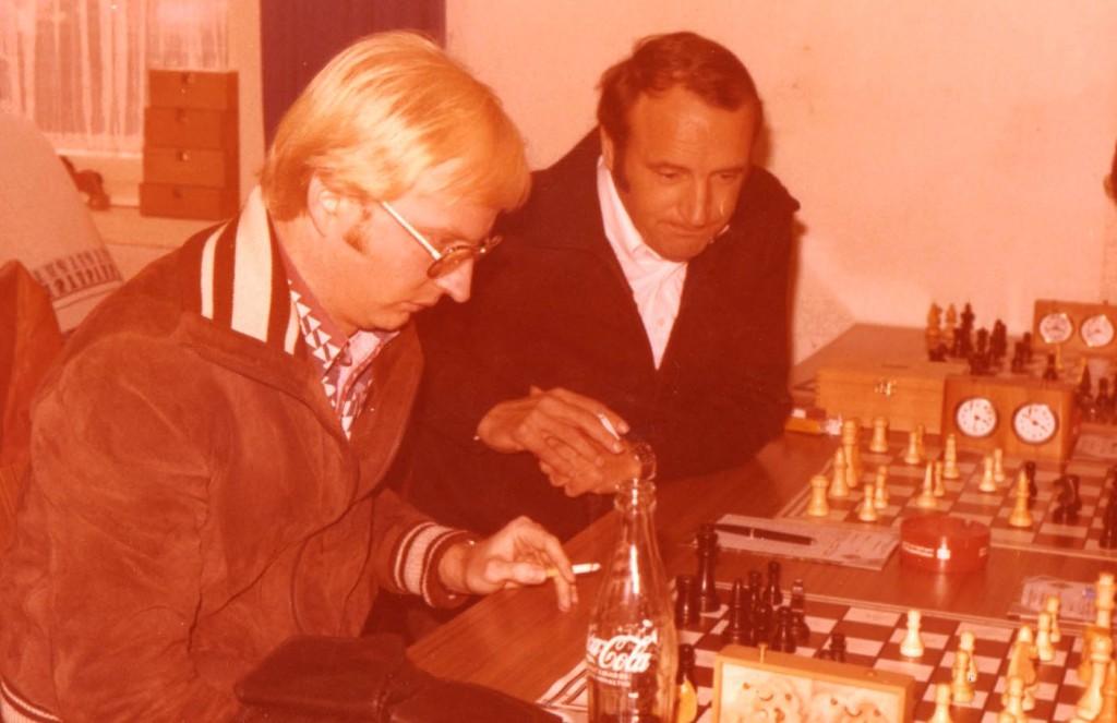 Manfred Küver und Klaus Franke anno 1978