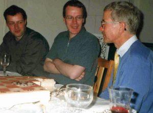 Olaf, Udo und ich anno 1999