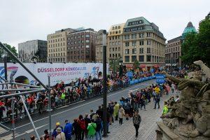 Die Tour de France auf der Königsallee