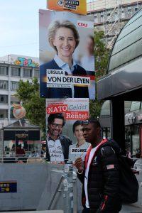 Wahlplakate am Köpcke
