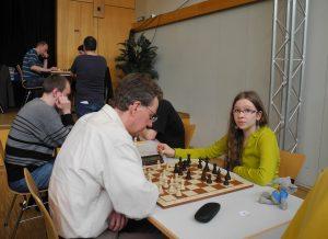 Lara Schulze beim Leine-Open 2015